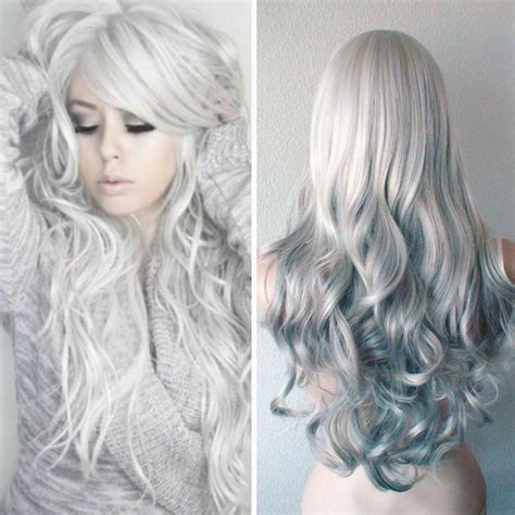 Hairstyles With Silver Color | 10 reasons to follow the fabulous gray hairstyles