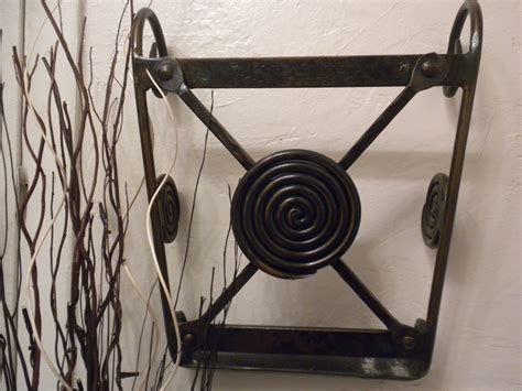 Wrought Iron Magazine Rack by Custom Wrought Iron Magazine Rack Quot Snail Shell By