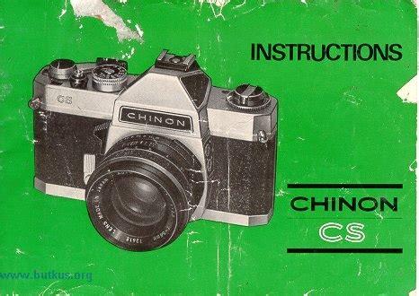 chinon cs camera manual, instruction