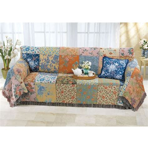 Patchwork Sofa Cover - patchwork sofa cover 28 images patchwork slipcover a