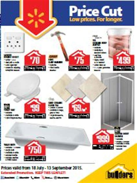 cut price bathrooms builders warehouse bathroom specials specials catalogue 18 jul 2015 13 sep 2015