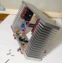 diy projects electronics lm3886 power amp with diy chassis