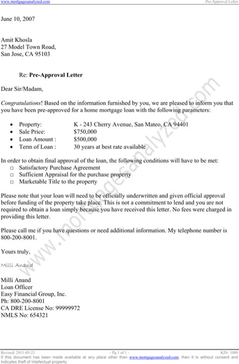 Loan Approval Letter Exle Approval Letter Templates For Excel Pdf And Word