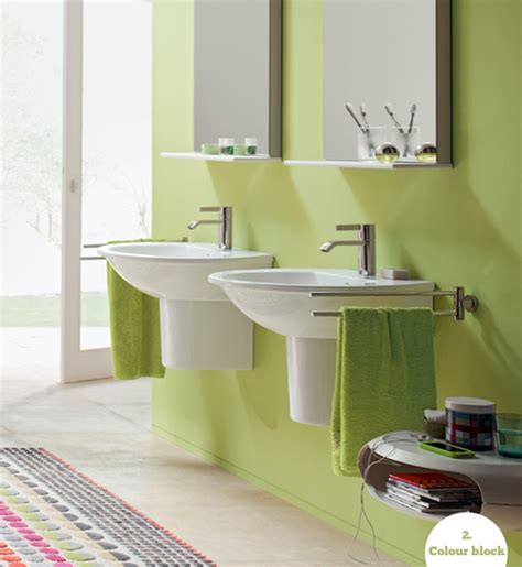 stylish bathrooms four ways to a colourful stylish bathroom bright