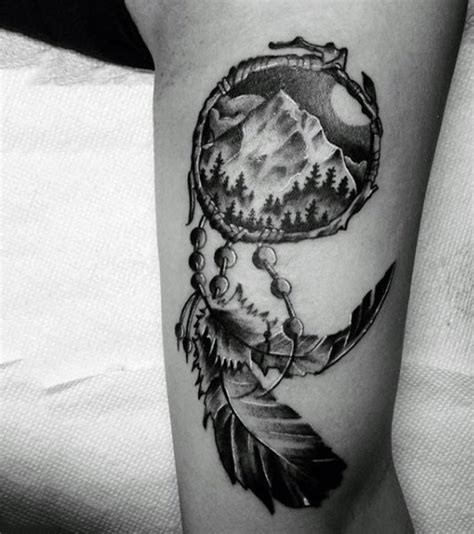 dream catcher tattoos for men 100 dreamcatcher tattoos for design ideas