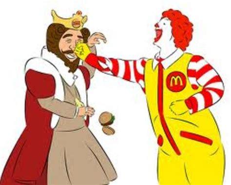 E Gift Card Mcdonalds - image 761596 ronald mcdonald vs the burger king know your meme