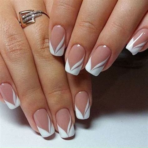 latest trend in french manicures for older women nail art primavera estate 2017 french grafica