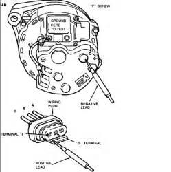 wiring diagram for ford alternator with regulator