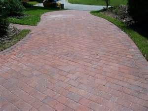 Front Patio Pavers Decor Tips Front Yard With Driveway Pavers And Lawn