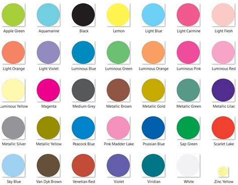 is a color lyra colour giants pencils individual colours
