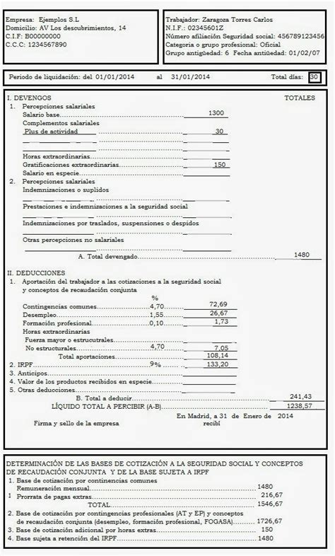 ejemplo de nmina empleada de hogar 2016 ejemplo de nomina empleada de hogar 2016 empleada del