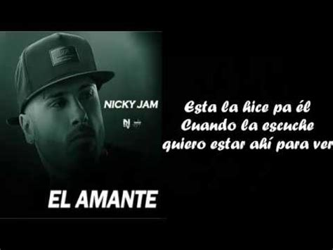 el amante japones una 1101971630 el amante nicky jam version balada video letra cover johann vera youtube
