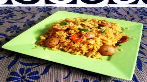 membuat nasi goreng youtube resep cara membuat nasi goreng sosis spesial youtube