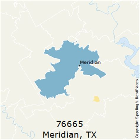 meridian texas map best places to live in meridian zip 76665 texas