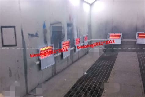 infrared heat ls for spray painting 8 sets of 3kw spray baking booth oven infrared paint