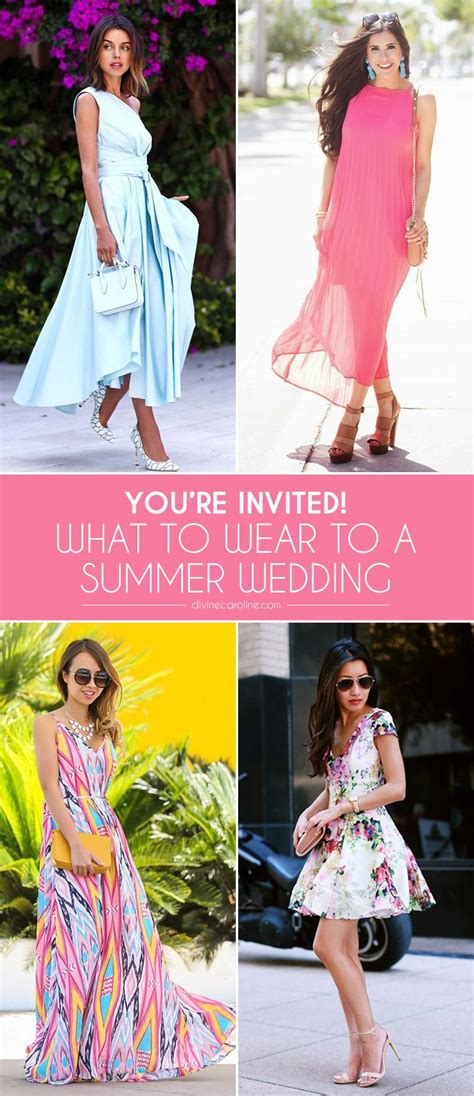 invited to a wedding what wear you re invited what to wear to a summer wedding more