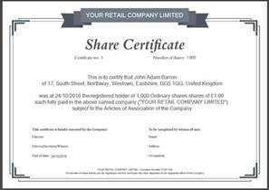 Free Certificate Templates Uk by Another Inform Direct Product Update October 2016