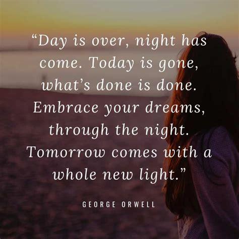 inspiring good night quotes  calming images