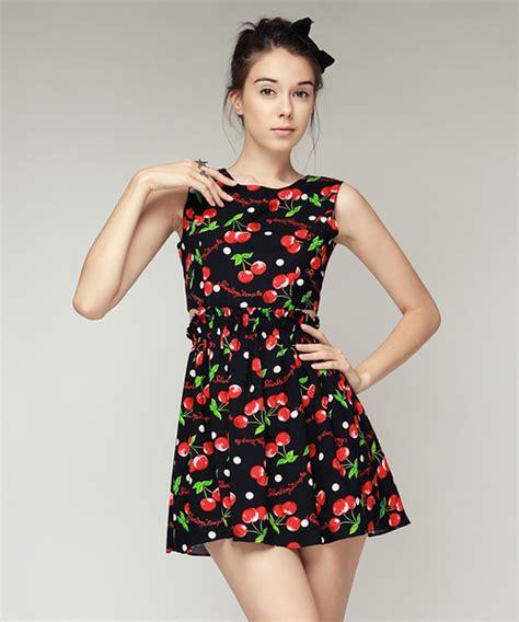 Dress Cut Sherly storets shirley cherry side cut out dress kstylick