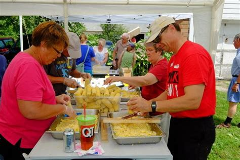 Food Pantry Ames Iowa by Food At To Harvest Donated Field Of Corn Sunday