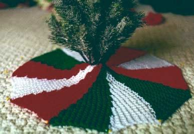 knitted christmas tree skirt pattern a knitting blog