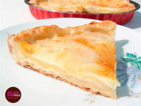 postres y otras recetas tarta de peras recetas de tartas selecci 243 n de las mejores recetas de dulcespostres