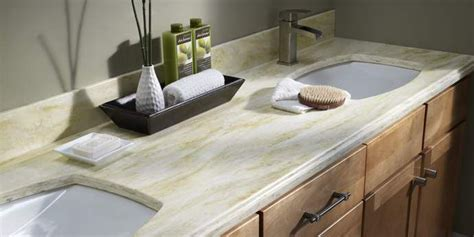 Corian Type Countertops by Bathroom Countertops Sander Sons