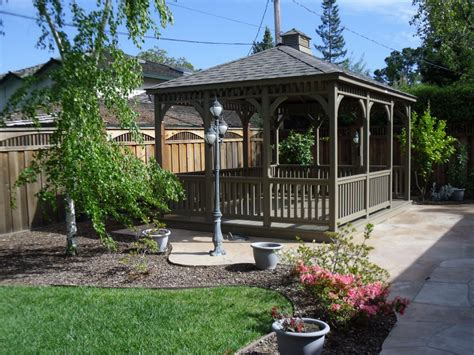 backyard gazebo backyard wooden gazebo outdoor furniture design and ideas