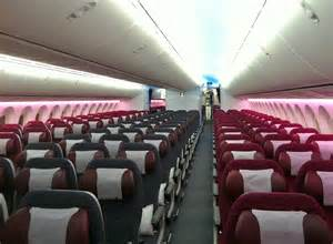qatar airways coach class cabin immaculate flight