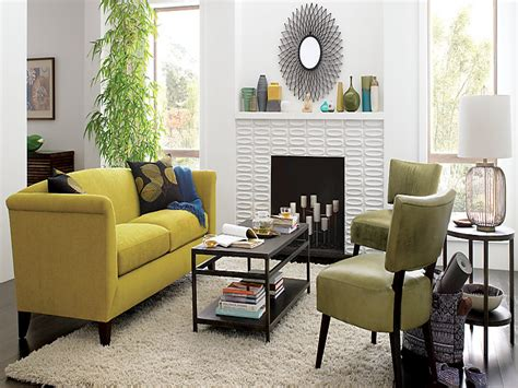 Living Room With White Leather Sofa Awesome Small White Living Room Interior Design Ideas With Yellow Leather Sofa Furniture