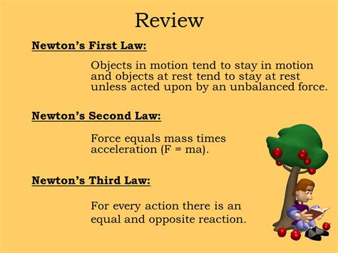 objects in motion tend to stay in motion forces newton s laws of motion ppt