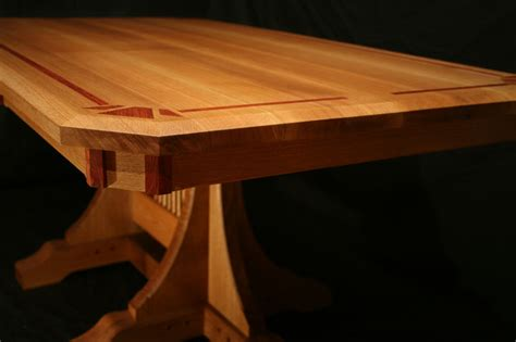 craftsman dining room table inlay dining room table by innovative woodworking co