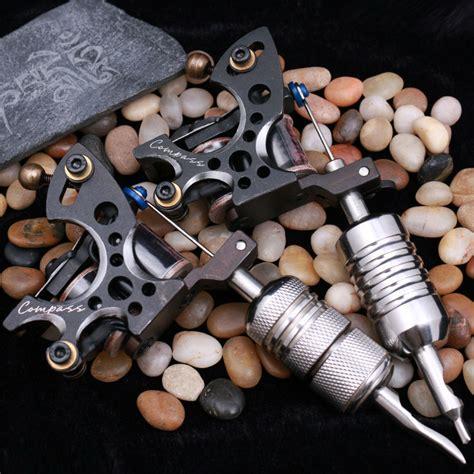 2 pcs tattoo machine gun liner shader steel frame copper 2 pcs compass tattoo machine plata liner fuego shader