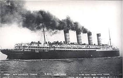 ww1 sinking of the lusitania sinking of the lusitania usa ww1