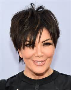 how to get kris jenner s hair kris jenner messy cut kris jenner hair looks stylebistro