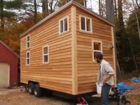 sherwood tiny house on a trailer