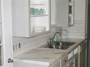 Faux Marble Laminate Countertops - faux marble the lettered cottage kitchen inspiration pinterest