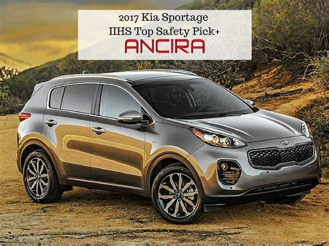 Kia Sportage Safety 2017 Sportage Named Iihs Tsp Uncategorized