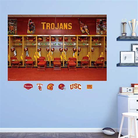 Locker Room Coupons by Usc Trojans Locker Room Mural