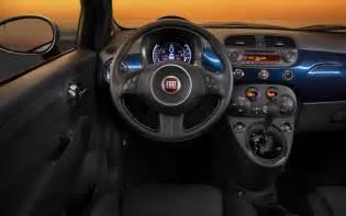 Fiat 500e Interior 2015 Fiat 500 Abarth Gets Tech Updates Still A Cool