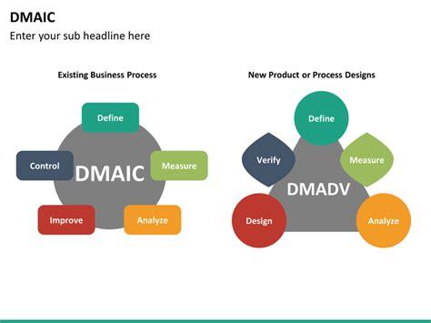 Dmaic Powerpoint Template Sketchbubble Dmaic Ppt