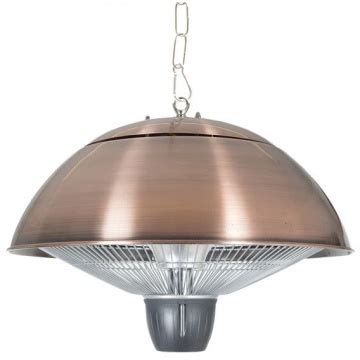hanging patio heaters copper hanging patio heater