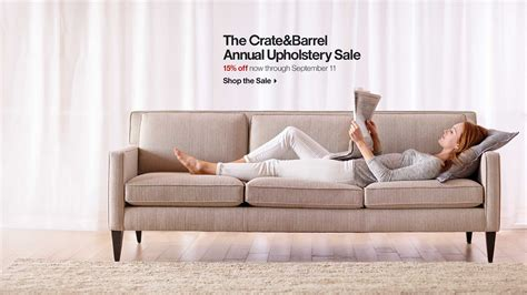 Crate And Barrel Upholstery Sale 2013 by Sale Furniture Rugs Dinnerware More Crate And Barrel