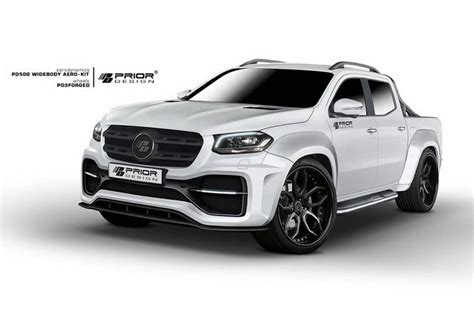 Prior Kits by Prior Design Develops Wide Kit For Mercedes X Class