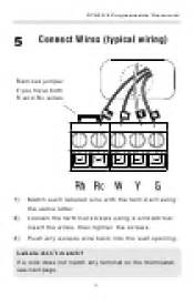 honeywell manual thermostat wiring diagram get free image about wiring diagram