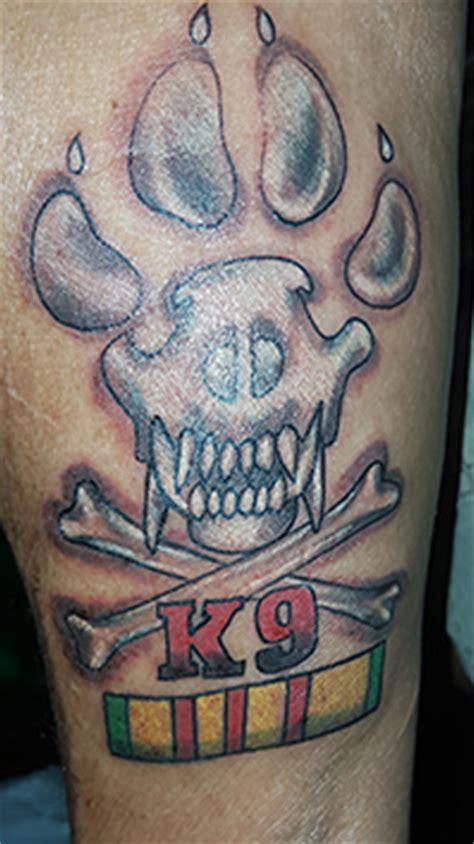 k9 tattoo tattoos worn by vspa members 2013