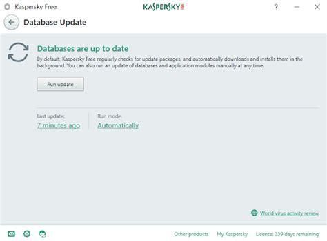Antivirus Kaspersky Terbaru cara mengatasi kaspersky gagal update database antivirus