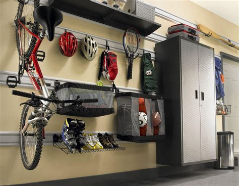Garage Wall Hook System by View Larger