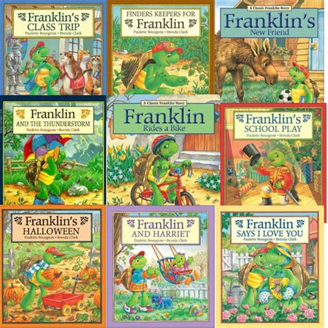 s fishing trip books franklin s adventures set 2 children s books
