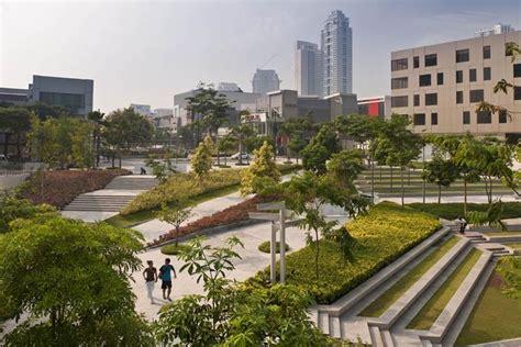 Landscape Architecture Philippines Bonifacio Global City Retail Center Makati City